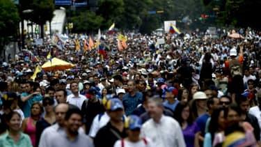 Manifestation à Caracas (Venezuela), le 22 juin 2017