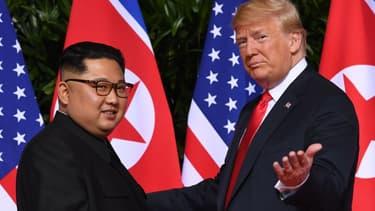 Donald Trump et Kim Jong Un - Image d'illustration