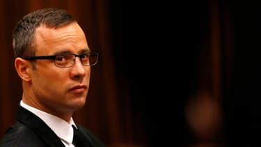 Oscar Pistorius lors de l'audience de ce mardi 25 mars devant le tribunal de Pretoria, en Afrique du Sud.
