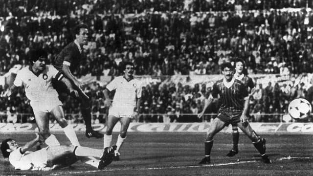 AS Rome - Liverpool en finale de Ligue des Champions, le 30 mai 1984