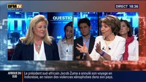 """Marisol Touraine face à Hedwige Chevrillon dans BFM Politique: """"Je défend le renforcement et l'amélioration des conditions de travail"""""""