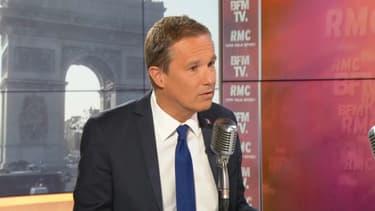 Nicolas Dupont-Aignan, président de Debout la France, le 29 avril 2019