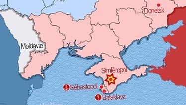La Crimée est un territoire ukrainien très proche du grand voisin russe.