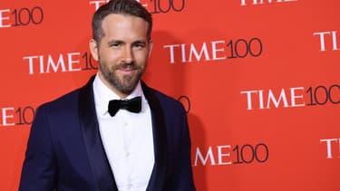 Ryan Reynolds en avril 2017 à New York