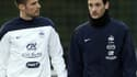 Olivier Giroud et Hugo Lloris