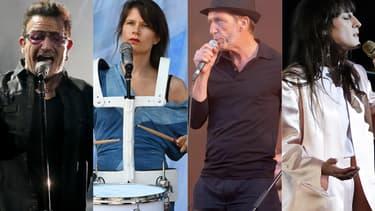 Bono, Camille, Christophe Miossec et Juliette Armanet, quatre des artistes présents sur ce disque-hommage