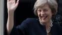 """Theresa May veut un Brexit """"clair et net""""."""