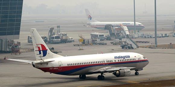 Deux avions de Malaysia Airlines stationnent sur le tarmac de l'aéroport de Kuala Lumpur. (photo d'illustration)
