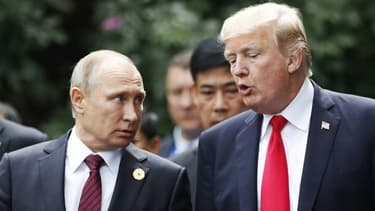Vladimir Poutine et Donald Trump, s'entretiendront de manière informelle le 11 novembre à Paris.