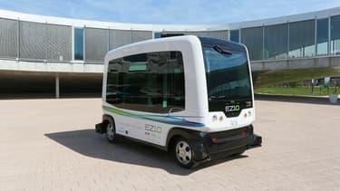 Conçu par le Français EasyMile, ce projet fait partie du programme européen Citymobil2.