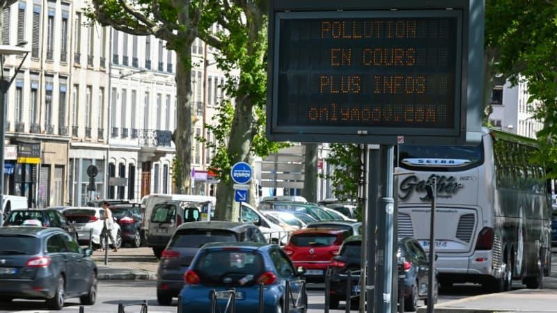 Episode de pollution à l'ozone: la circulation différenciée levée à Lyon