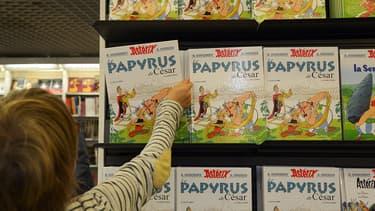 Le dernier volet d'Astérix, Le Papyrus de César, était de très loin n'°1 des ventes en 2015.