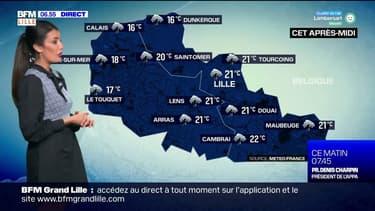 Météo Nord-Pas-de-Calais: des orages et de fortes précipitations au programme, jusqu'à 21°C cet après-midi