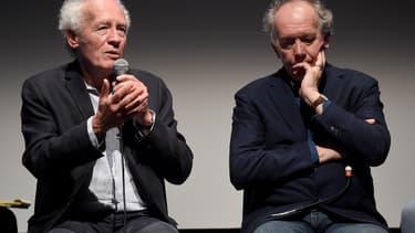 Jean-Pierre Dardenne et Luc Dardenne en 2019 au New York Film Festival.