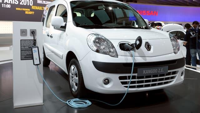 La flotte actuelle de Clem' est composée de 54 Kangoo 100% électrique de Renault.