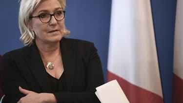 Marine Le Pen s'était prononcée il y a quelques mois pour le changement de nom du FN.