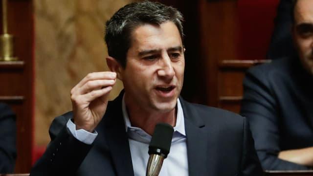 François Ruffin lors d'une séance de questions au gouvernement à l'Assemblée nationale, le 13 novembre 2018