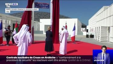 """L'avenue qui conduit au Louvre Abou Dhabi rebaptisée """"Avenue Jacques Chirac"""""""