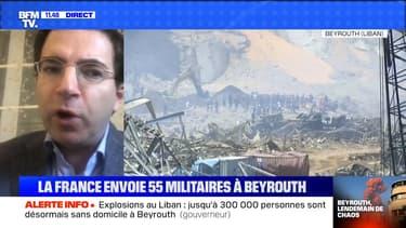 La France envoie 55 militaires à Beyrouth (3/3) - 05/08