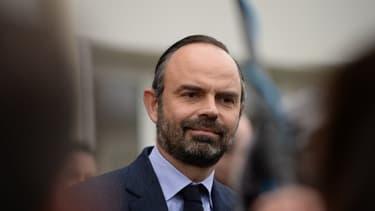 Édouard Philippe le 11 février 2019, près de Tours.