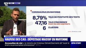Coronavirus: une opération de dépistage massif en Mayenne face à la hausse des cas