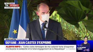 """Jean Castex sur la gestion de la crise sanitaire en Guyane: """"Sans doute tout n'a pas été parfait"""""""