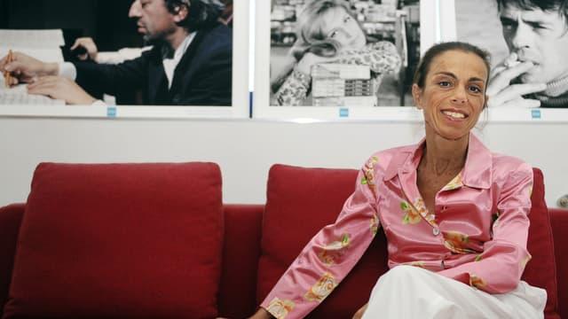 Agnès Saal, alors directrice de l'Institut national de l'audiovisuel, en juillet 2014.