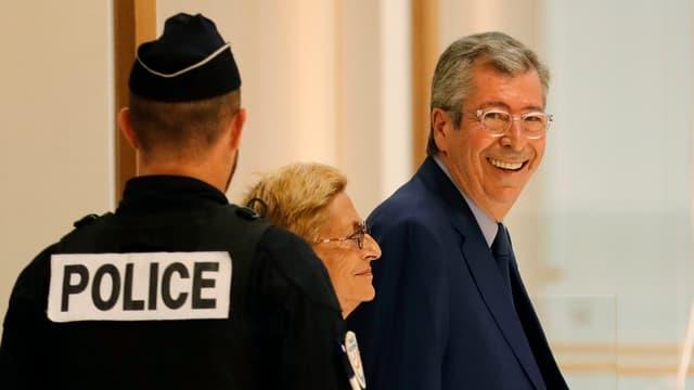 Patrick Balkany le 13 septembre 2019 à son arrivée au tribunal de Paris.