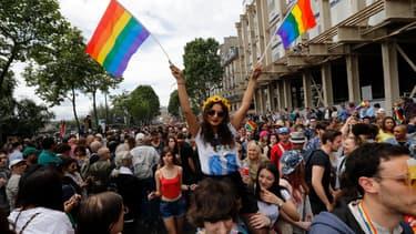 La Marche des fiertés à Paris, le 2 juillet 2016. (Photo d'illustration)