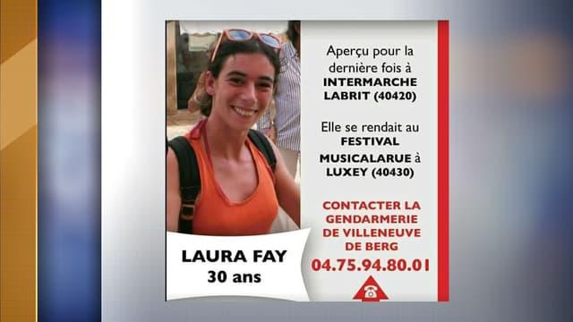 """Une jeune femme de 30 ans originaire de l'Ardèche a disparu """"dans des circonstances particulièrement inquiétantes"""" dans les Landes."""