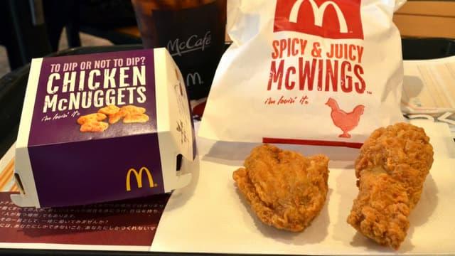 McDonald's ne veut plus utiliser d'antibiotiques pour ses poulets en Europe à partir de la fin 2019.