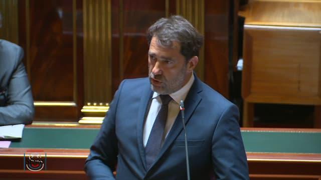 Christophe Castaner au Sénat