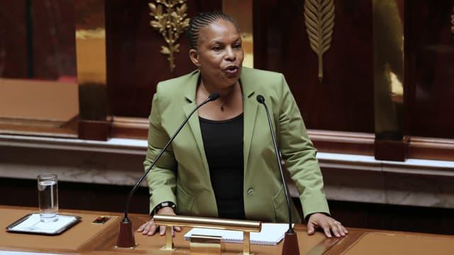 Christiane Taubira dans son discours du mariage du 29 janvier 2013 ouvrant les débats sur le mariage pour tous.