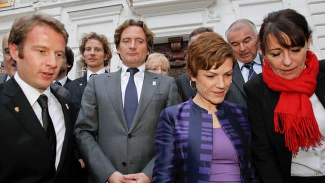 Les membres de la candidature française n'ont pas chômé pour leurs dernières heures avant l'élection de mercredi