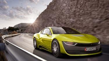 Le concept Rinspeed Etos est basé sur la BMW i8.