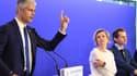 Laurent Wauquiez et les cadres des Républicains