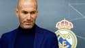Zinédine Zidane après avoir annoncé sa démission, le 31 mai 2018 à Madrid