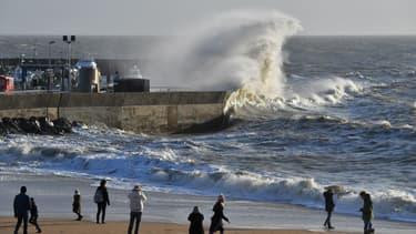 Le tempête Eleanor a touché la France pendant la nuit de mardi à mercredi. (Photo d'illustration)