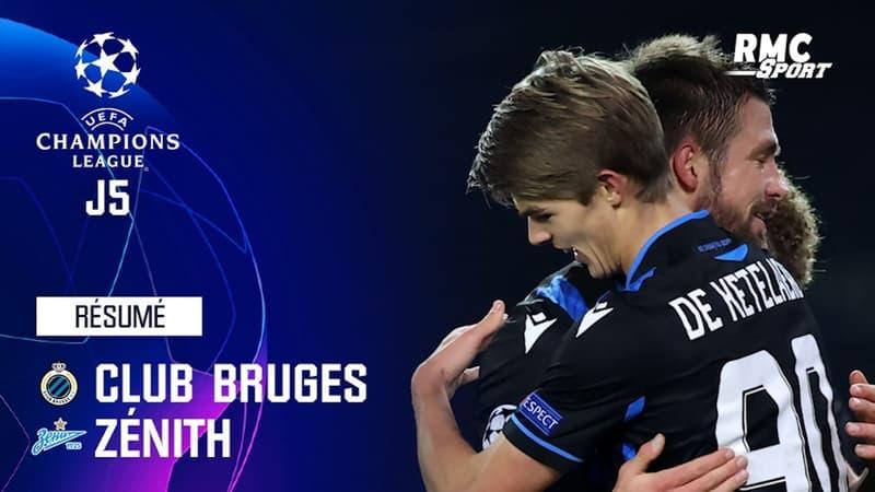 Résumé : Bruges 3-0 Zenith - Ligue des champions J5