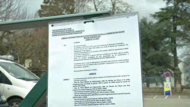 Le préfet de l'Eure a pris plusieurs arrêtés d'interdiction.
