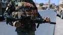 Un militaire déployé dans la province d'Hérat (Ouest)