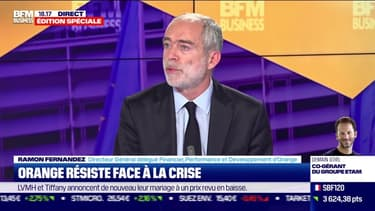 Ramon Fernandez (Orange) : Orange résiste face à la crise - 29/10