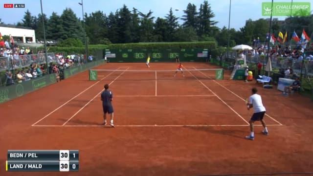 Paolo Maldini a fait ses débuts dans le tennis pro