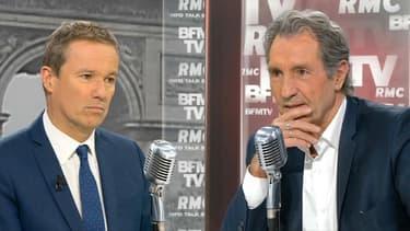 """""""Quand on n'est pas d'accord avec ce gouvernement, on nous accuse de mentir"""", reproche Nicolas Dupont-Aignan"""