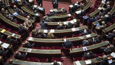Les sénateurs dans l'hémicycle au Palais du Luxembourg en novembre 2016 (image d'illustration)