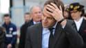 Emmanuel Macron le 17 mars 2016 en visite à la centrale nucléaire de Civaux.