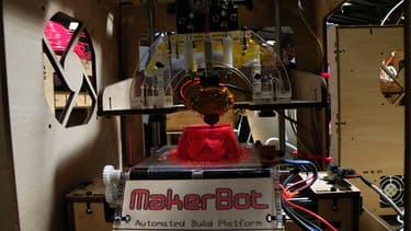 Une imprimante 3D capable de reconstituer des pièces en résine (photo d'illustration)