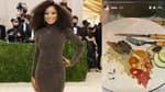 Keke Palmer au Met Gala - Une Story Instagram postée sur son compte