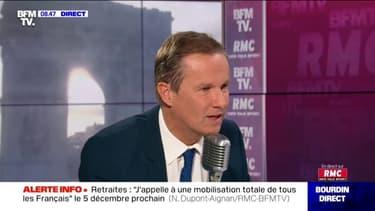 """""""En France, il n'y a aucune stigmatisation des Français musulmans qui pratiquent leur foi"""" Nicolas Dupont-Aignan explique pourquoi il ne participera pas à la marche contre l'islamophobie"""