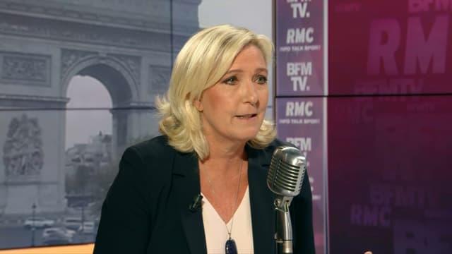 Marine Le Pen, présidente du Rassemblement national, le 17 septembre 2019